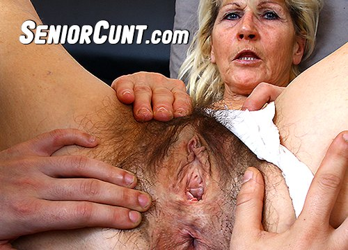 SeniorCunt.com - old pussy close-ups HD